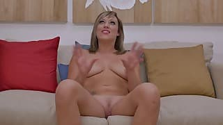 Sexy mom MILF shows off her big bottom
